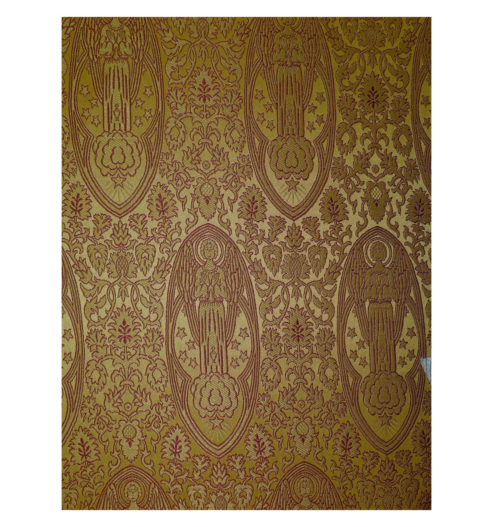 tissu damass baldam960 inter nos chasuble. Black Bedroom Furniture Sets. Home Design Ideas